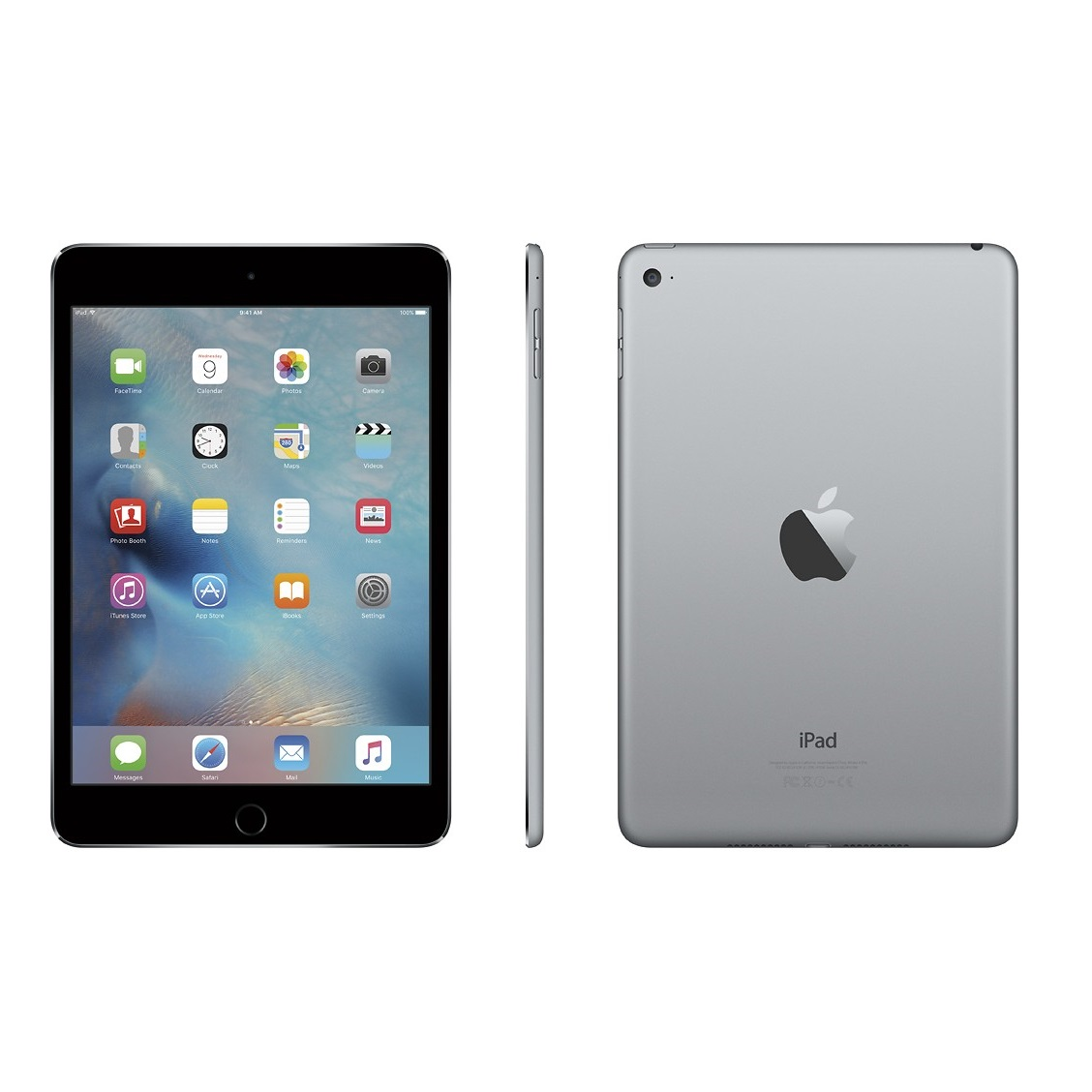 Apple iPad mini 4 Retina Wifi (Gray)- 64Gb/ 7.9Inch/ Wifi + Bluetooth