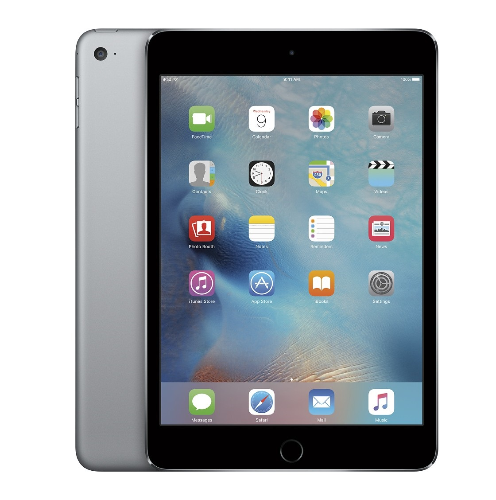 Apple iPad mini 4 Retina Cellular (Gray)- 64Gb/ 7.9Inch/ 3G + LTE + Wifi + Bluetooth