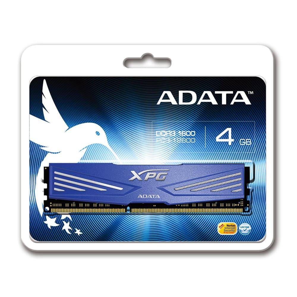 RAM Adata 4Gb DDR3 1600 Non-ECC AX3U1600W4G11-RD
