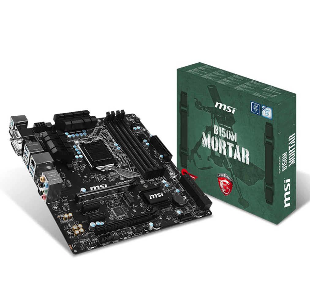Main MSI B150M MORTAR (Chipset Intel B150/ Socket LGA1151/ VGA onboard)