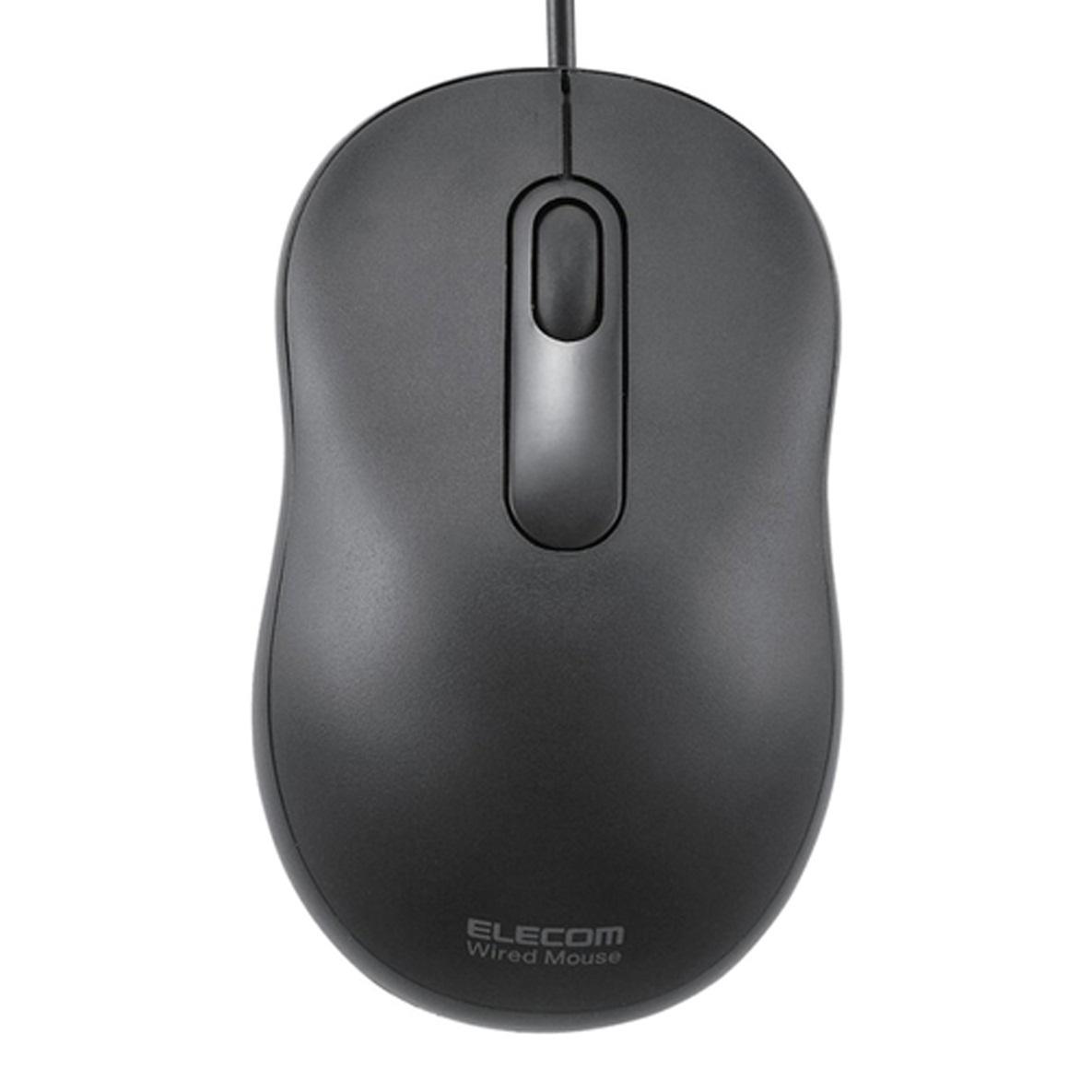 Chuột Elecom M-Y6URBK (USB, Có dây)