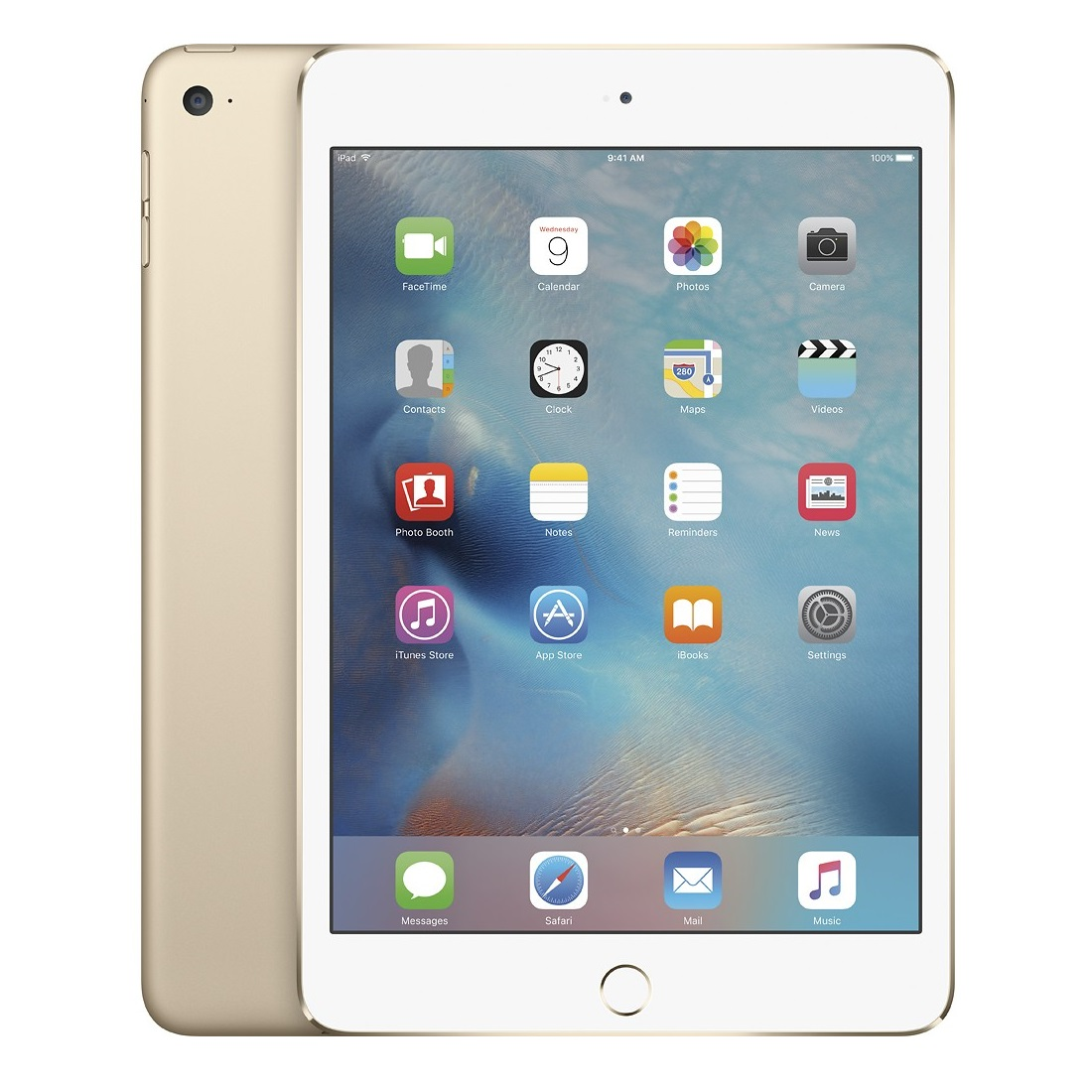 Apple iPad mini 4 Retina Cellular (Gold)- 128Gb/ 7.9Inch/ 4G