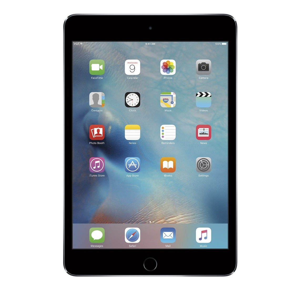 Apple iPad mini 4 Retina Cellular (Silver)- 128Gb/ 7.9Inch/ 4G