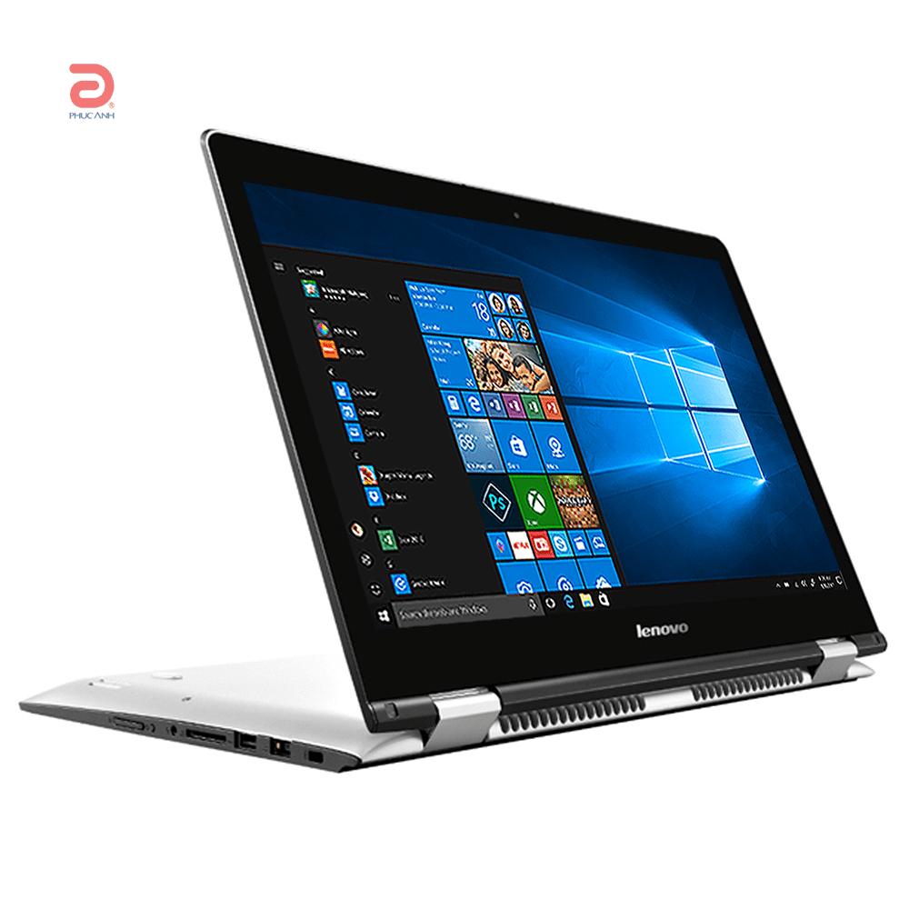 Laptop Lenovo Yoga 500 14 80N400H6VN (White)- Màn hình cảm ứng, Full HD. Xoay gập 360 độ