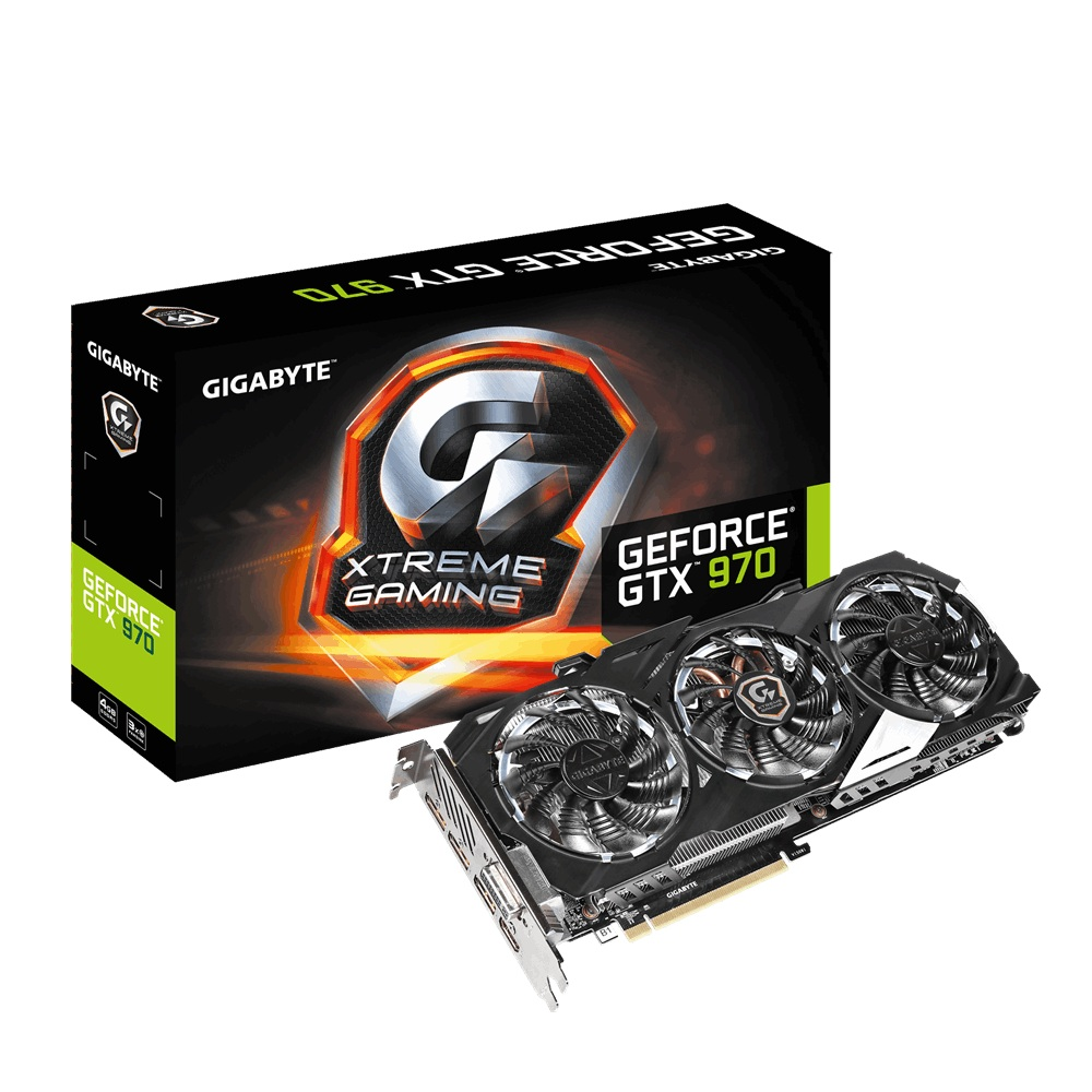 Gigabyte N970XTREME-4GD (NVIDIA Geforce/ 4Gb/ DDR5/ 256Bit)