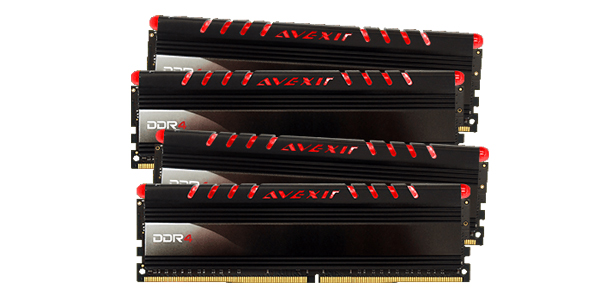 RAM Avexir 16Gb (4x4Gb) DDR4 2666 Non-ECC Core Series (RAAV058)