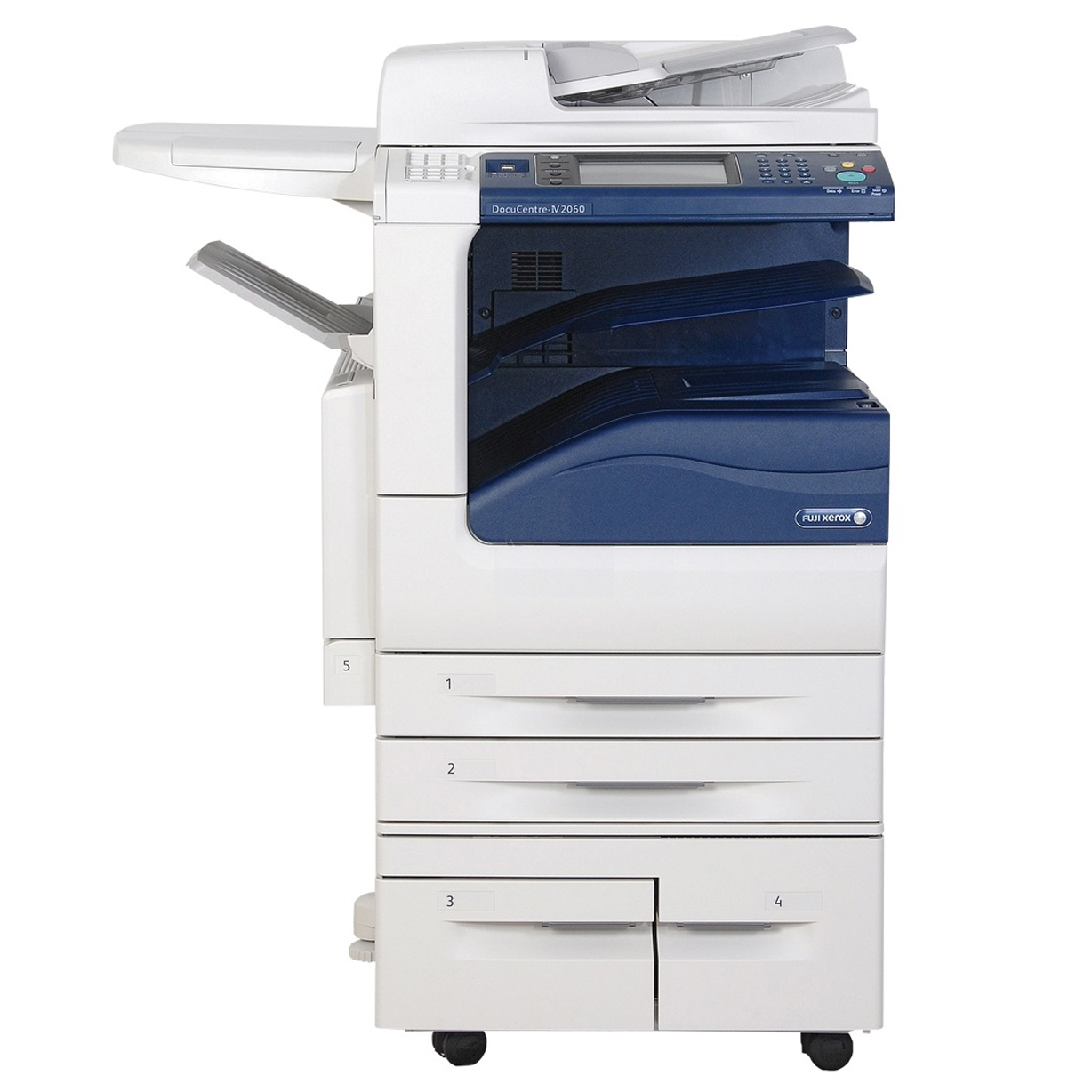 Máy photocopy Fuji Xerox V 2060 CPS + DADF+ Duplex (Copy, In mạng, Scan màu, Scan mạng/ DADF + Duplex)