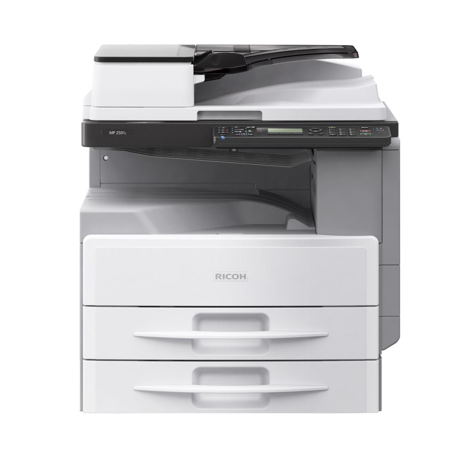 Máy photocopy Ricoh MP2501L (Copy/ Print/ Scan/DADF/ Duplex)