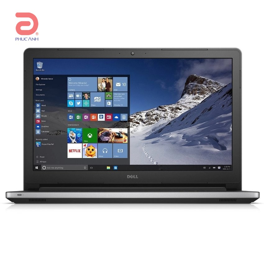 Laptop Dell Inspiron 5558 - DPXRD42 (Silver)