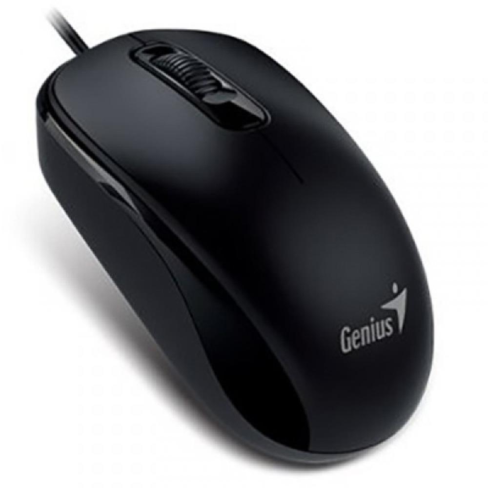 Chuột Genius DX-110  Đen (1000Dpi, Có dây)