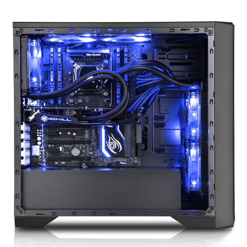 Vỏ máy tính Sama Titan Black  (ATX)