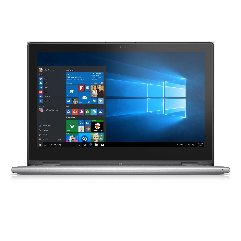 Laptop Dell Inspiron 7359 - C3I7117W (Silver)- Màn hình xoay 360 độ