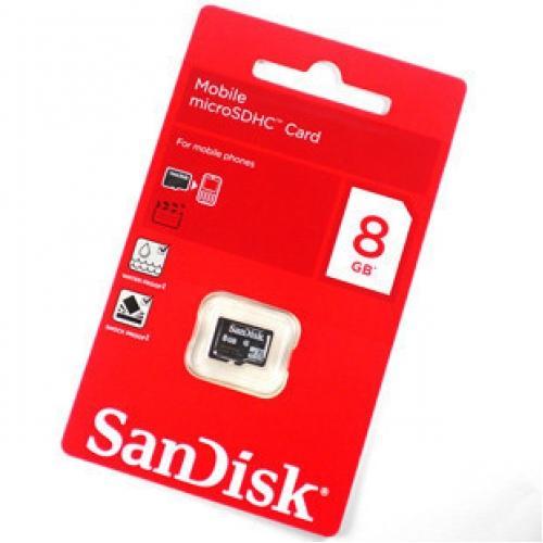 Thẻ nhớ SD Sandisk 8Gb Class 4