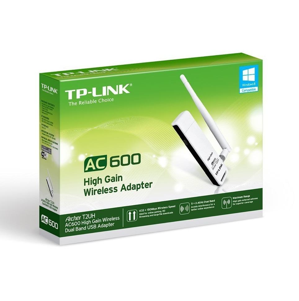 Cạc mạng không dây TP-Link Archer T2UH AC600Mbps