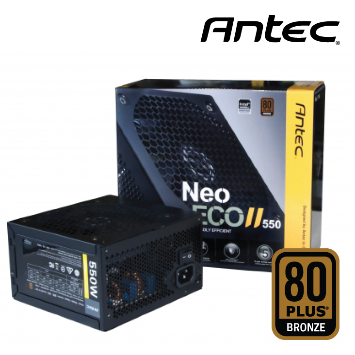 Nguồn Antec Neo ECO II 550W -80 Plus Bronze