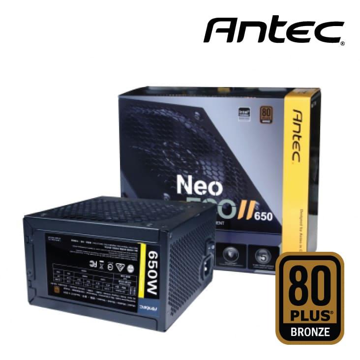 Nguồn Antec Neo ECO II 650W - 80 Plus Bronze