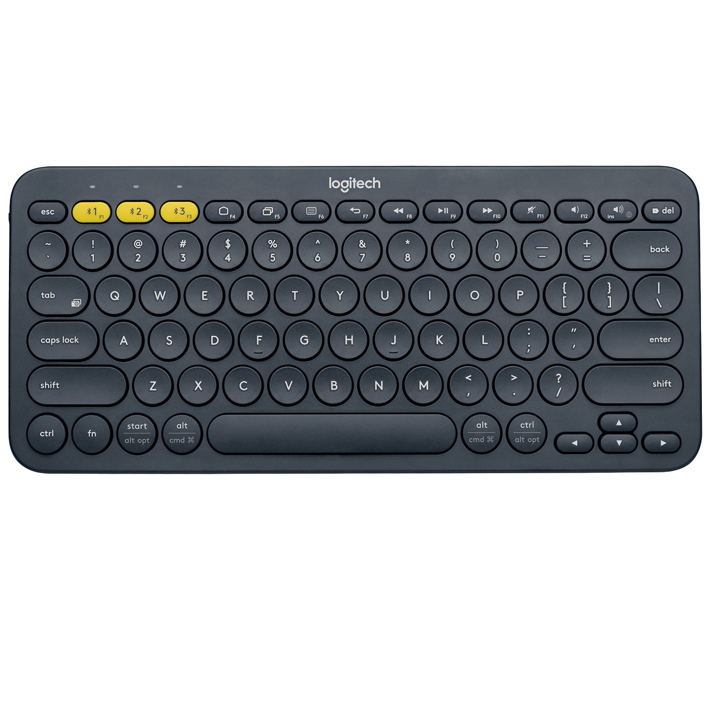 Bàn phím không dây Logitech K380 Màu đen (Bluetooth, Không dây )