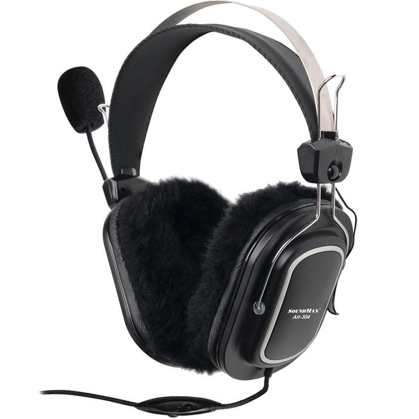 Tai nghe Soundmax AH304 (Đen)