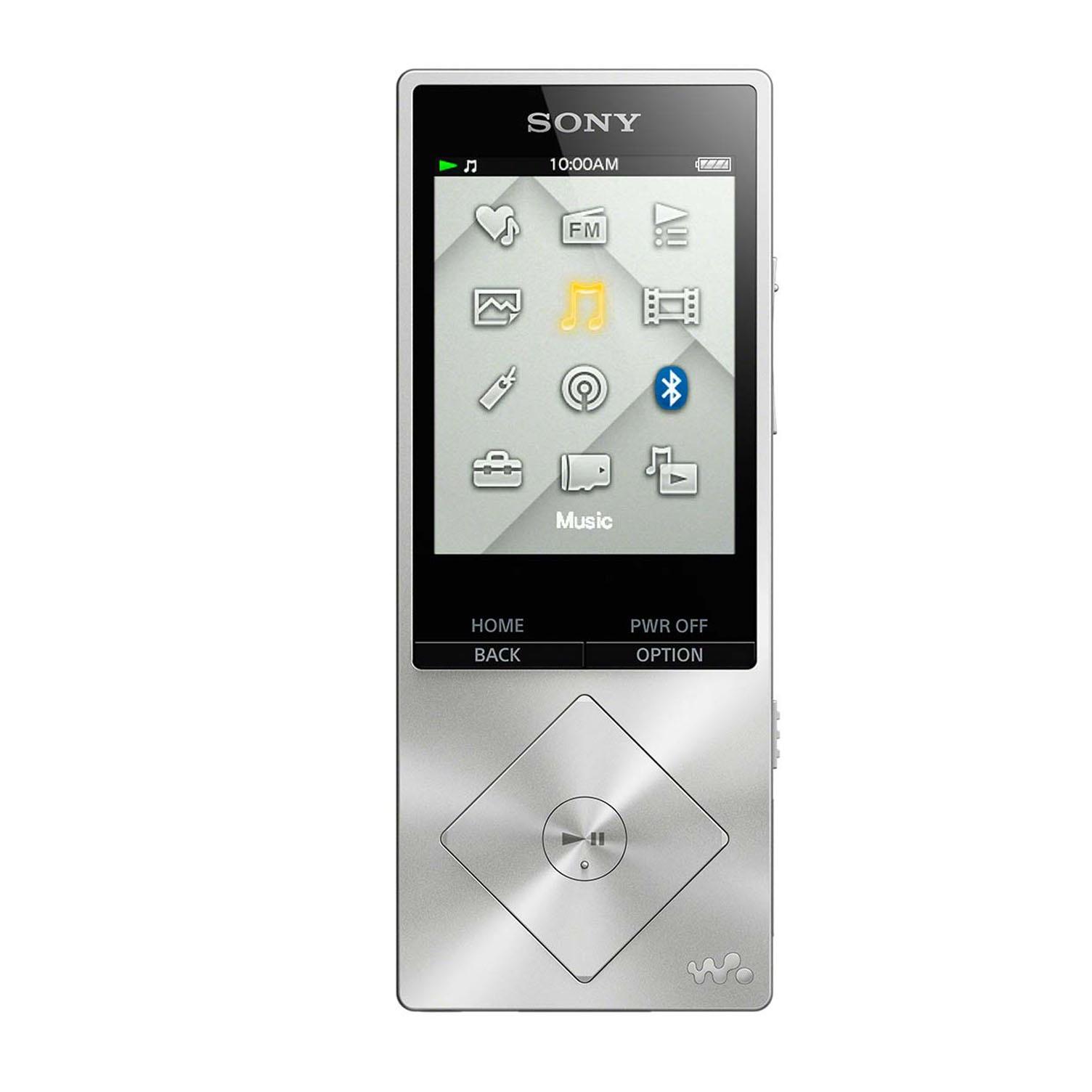 Máy nghe nhạc Sony NWZ A25 16Gb - Bạc