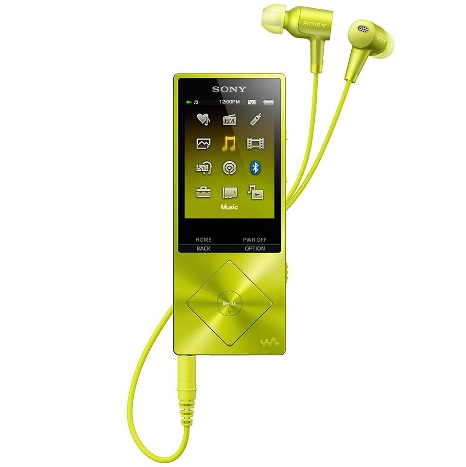 Máy nghe nhạc Sony NWZ A26HN 32Gb - Vàng chanh