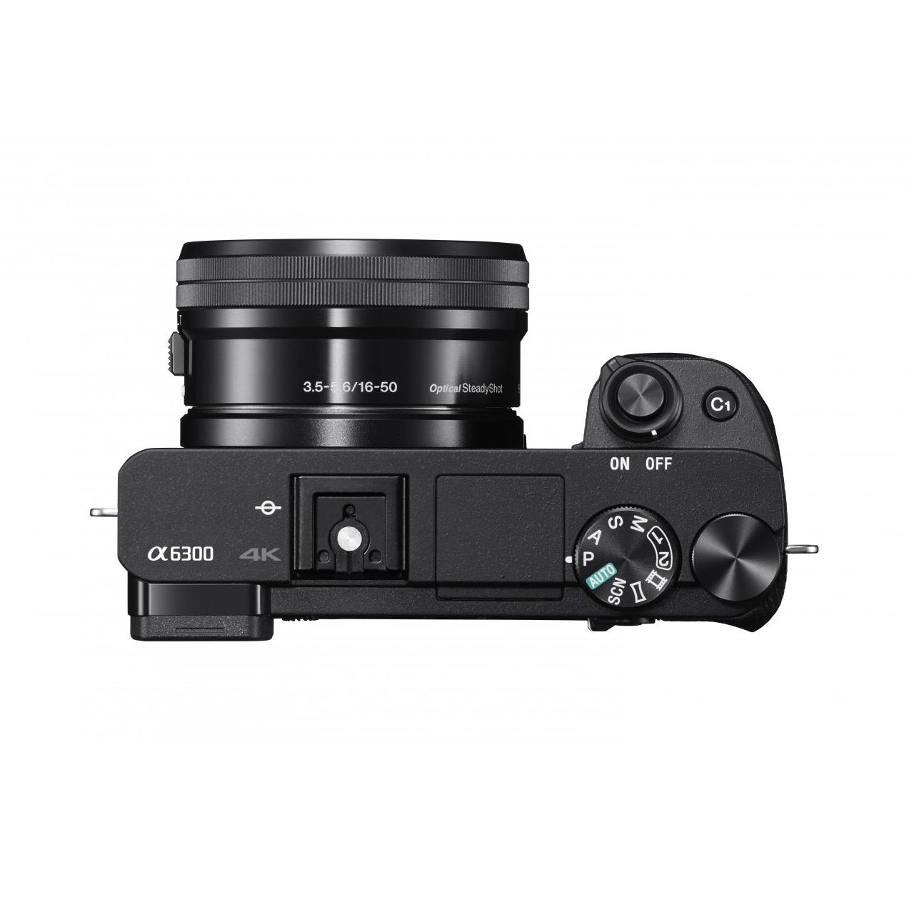 Máy ảnh KTS Sony Alpha ILCE 6300 Body  - Black