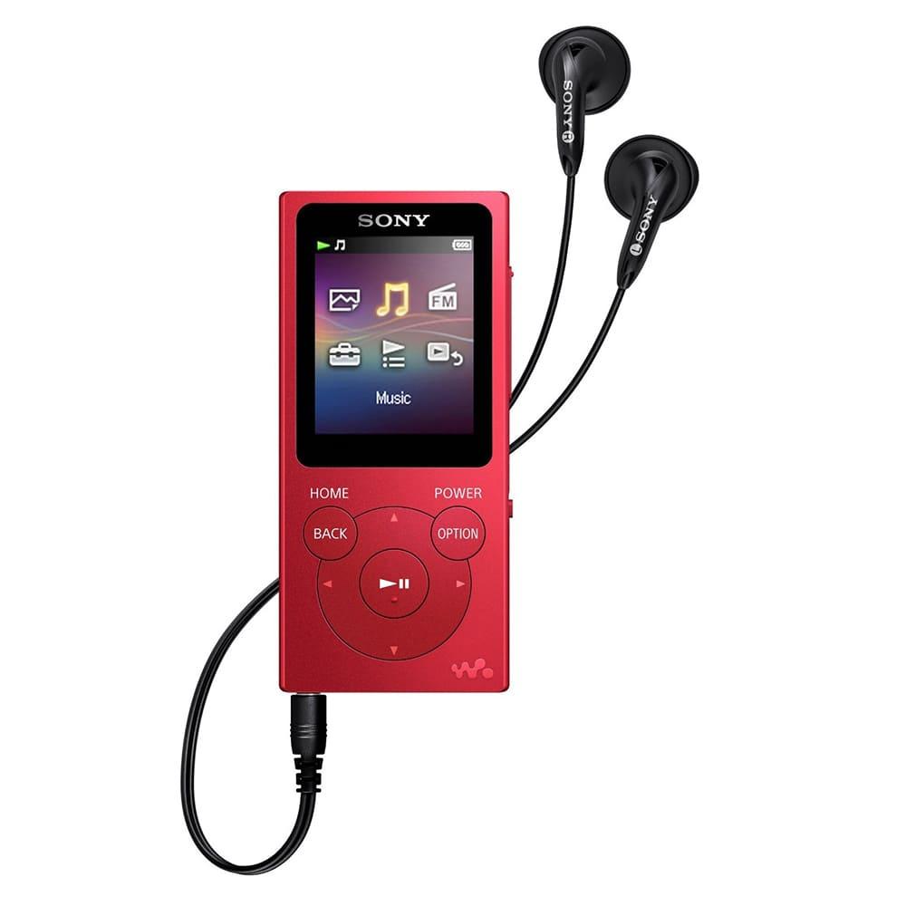 Máy nghe nhạc Sony NW E394 8Gb - Đỏ