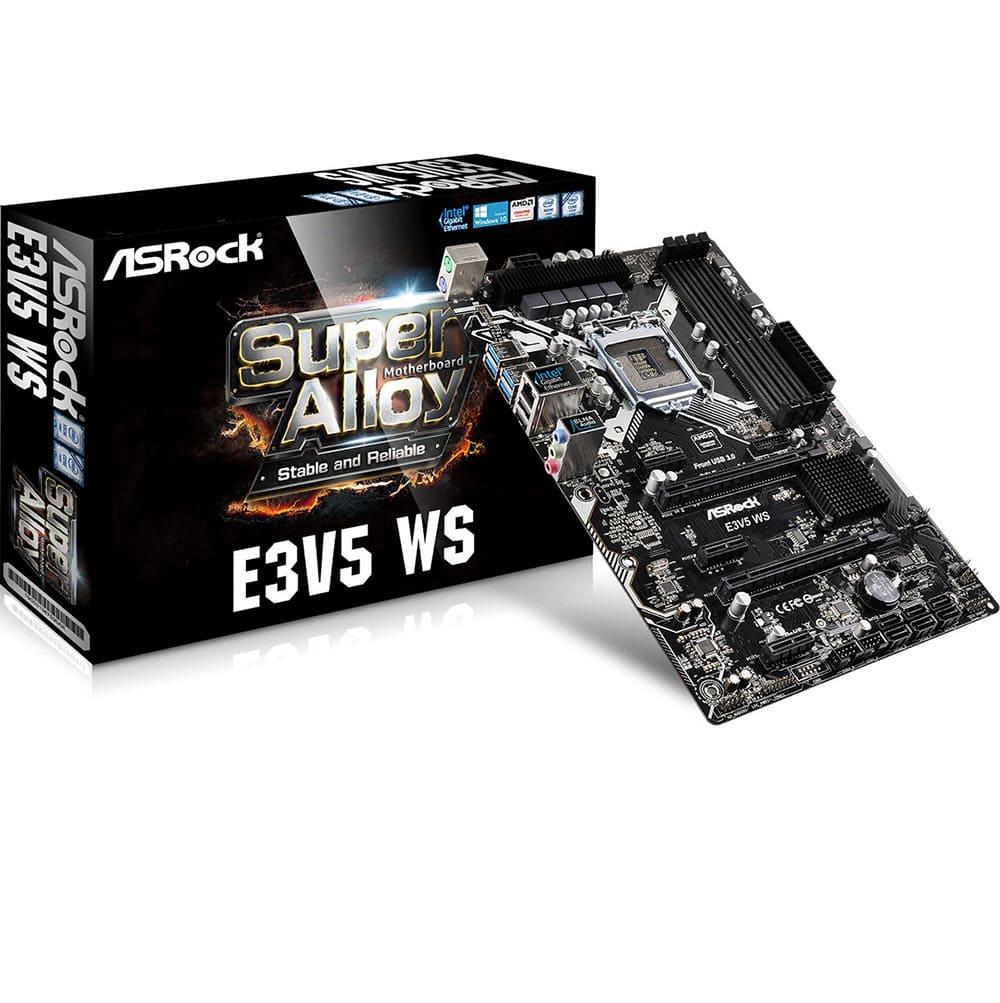 Asrock E3V5 WS (Chipset Intel C232/ Socket LGA1151/ VGA onboard)