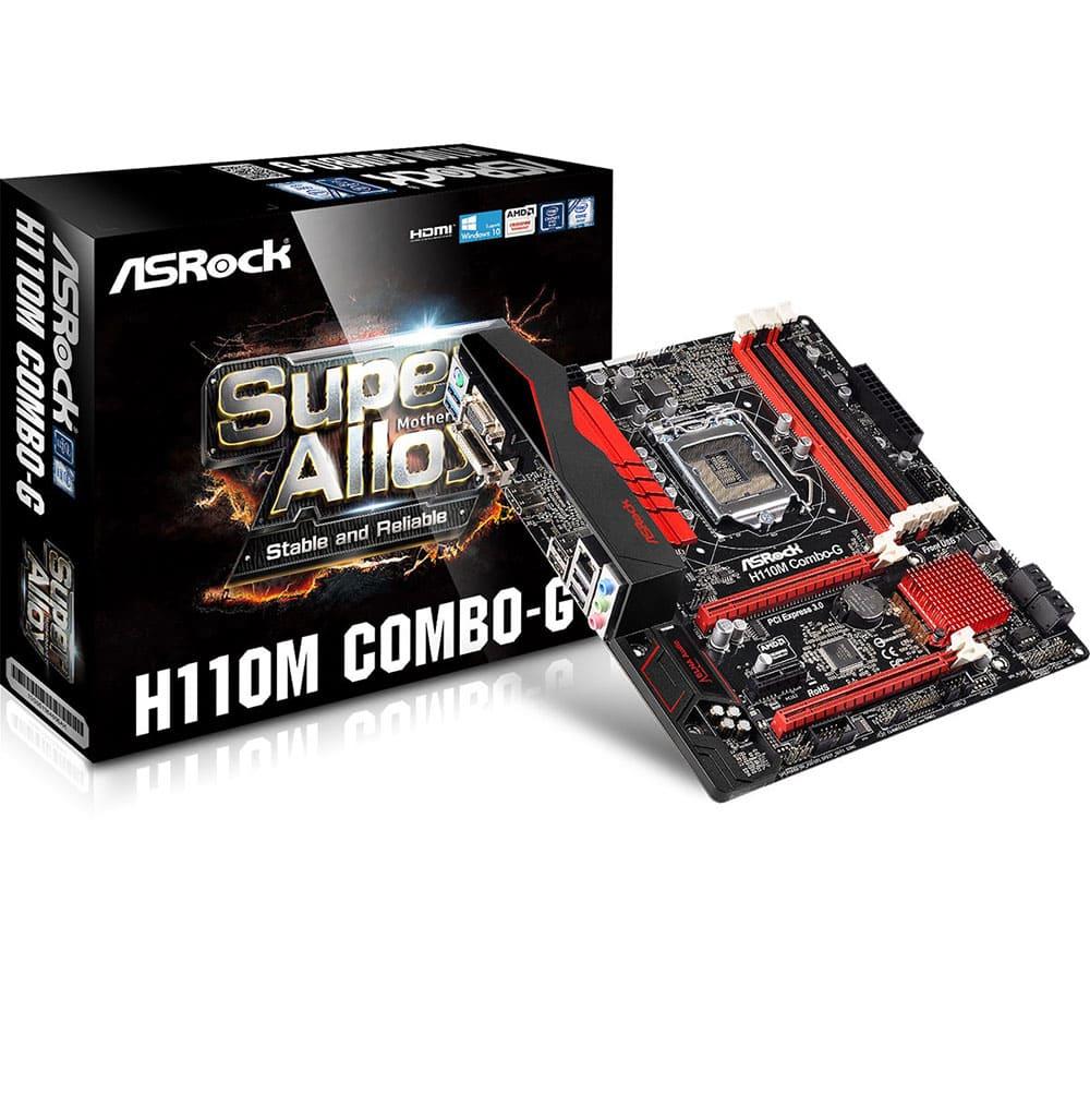 Asrock H110M Combo-G (Chipset Intel H110/ Socket LGA1151/ VGA onboard)