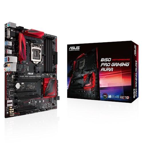 Asus B150-Pro Gaming/Aura (Chipset Intel B150/ Socket LGA1151/ VGA onboard)