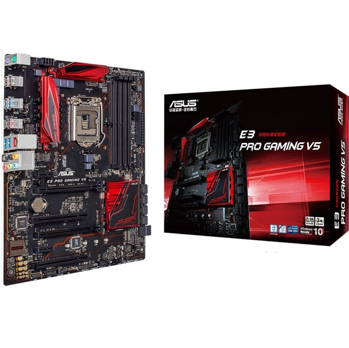 Main Asus E3 Pro Gaming V5 (Chipset Intel C232/ Socket LGA1151/ VGA onboard)