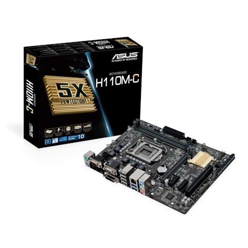 Asus H110M-C (Chipset Intel H110/ Socket LGA1151/ VGA onboard)