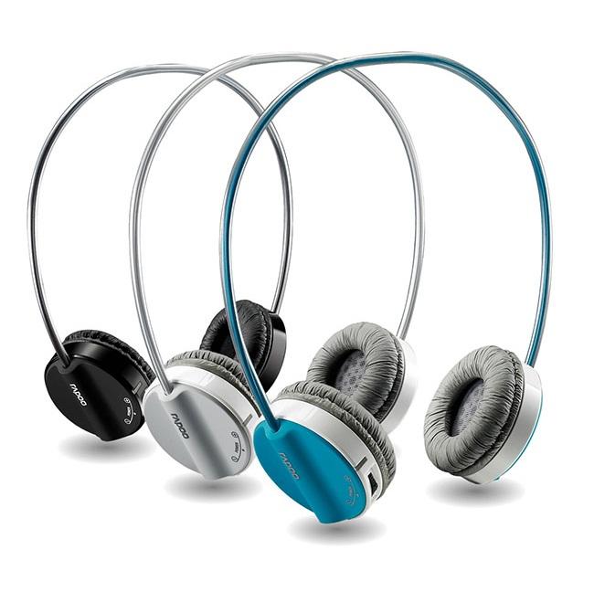 Tai nghe không dây Rapoo H3050 (Xanh, Xám , Đen)