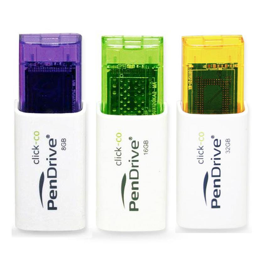 USB Pendrive Click 8Gb