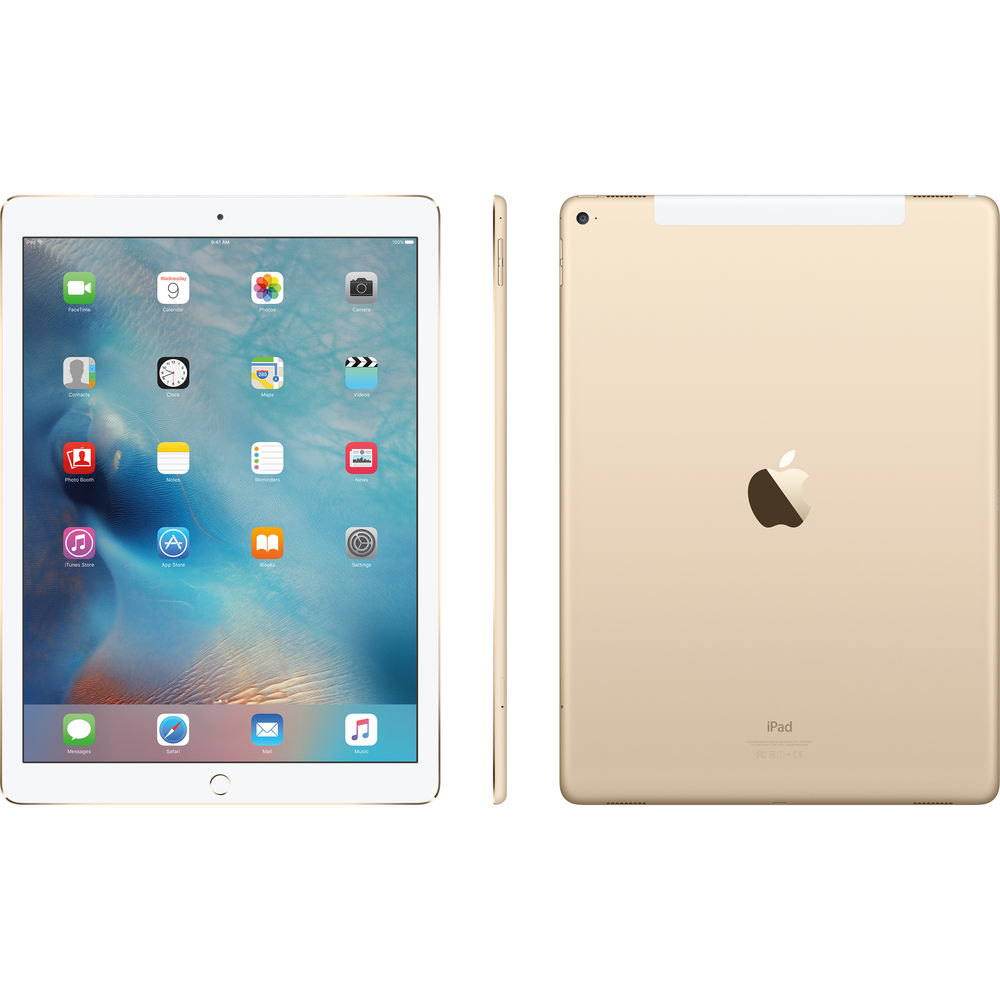 Apple iPad Pro Cellular (Gold)- 128Gb/ 9.7Inch/ 4G