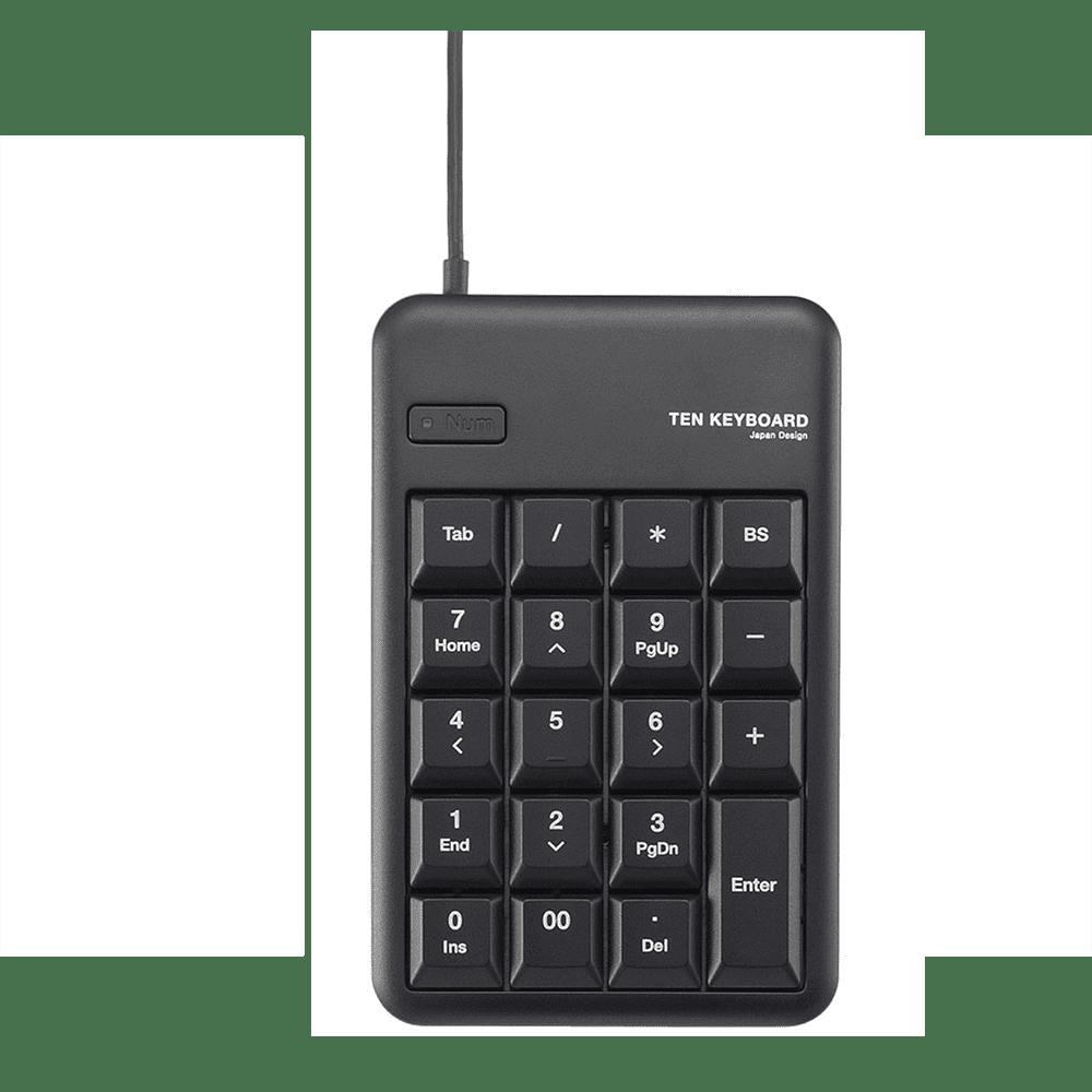 Bàn phím số Elecom TK-TCM012BK (USB, Có dây)