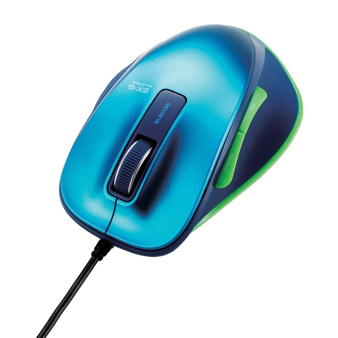 Chuột Elecom M-XG1UBSP-G (USB, Có dây)