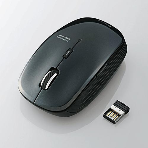 Chuột không dây Elecom M-BL21DBBU (USB, quang)