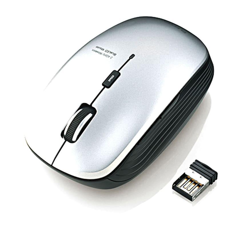 Chuột không dây Elecom M-BL21DBSV (USB, quang)
