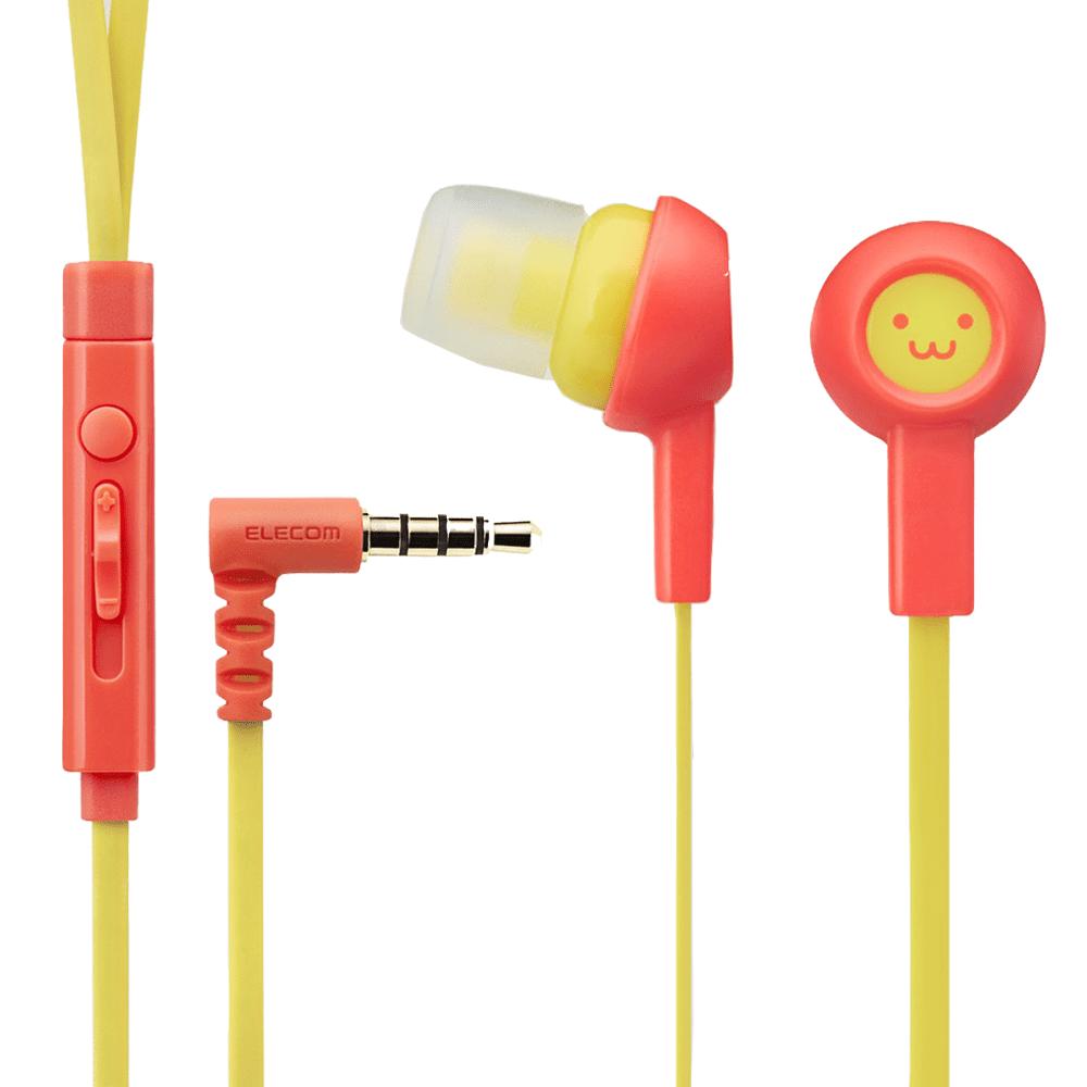 Tai nghe Elecom EHP-C3520F2-G (Cam hồng)