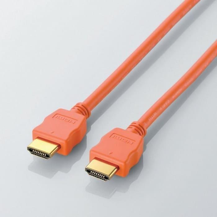 Cáp HDMI Elecom DH-HD14EC15DR 1.5m (Màu cam)