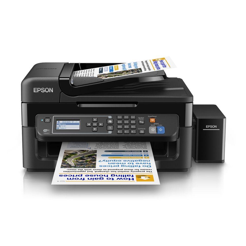 Máy in phun màu Epson L565 (Print Wifi/ Copy/ Scan/Fax)
