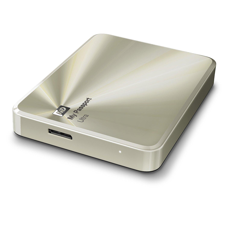 Ổ cứng di động Western Digital Ultra Metal 3Tb USB3.0 Vàng
