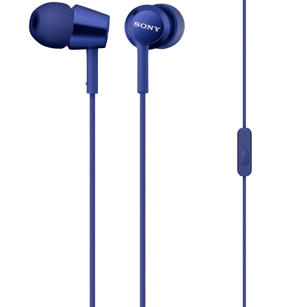 Tai nghe Sony MDR-EX150AP (Xanh)