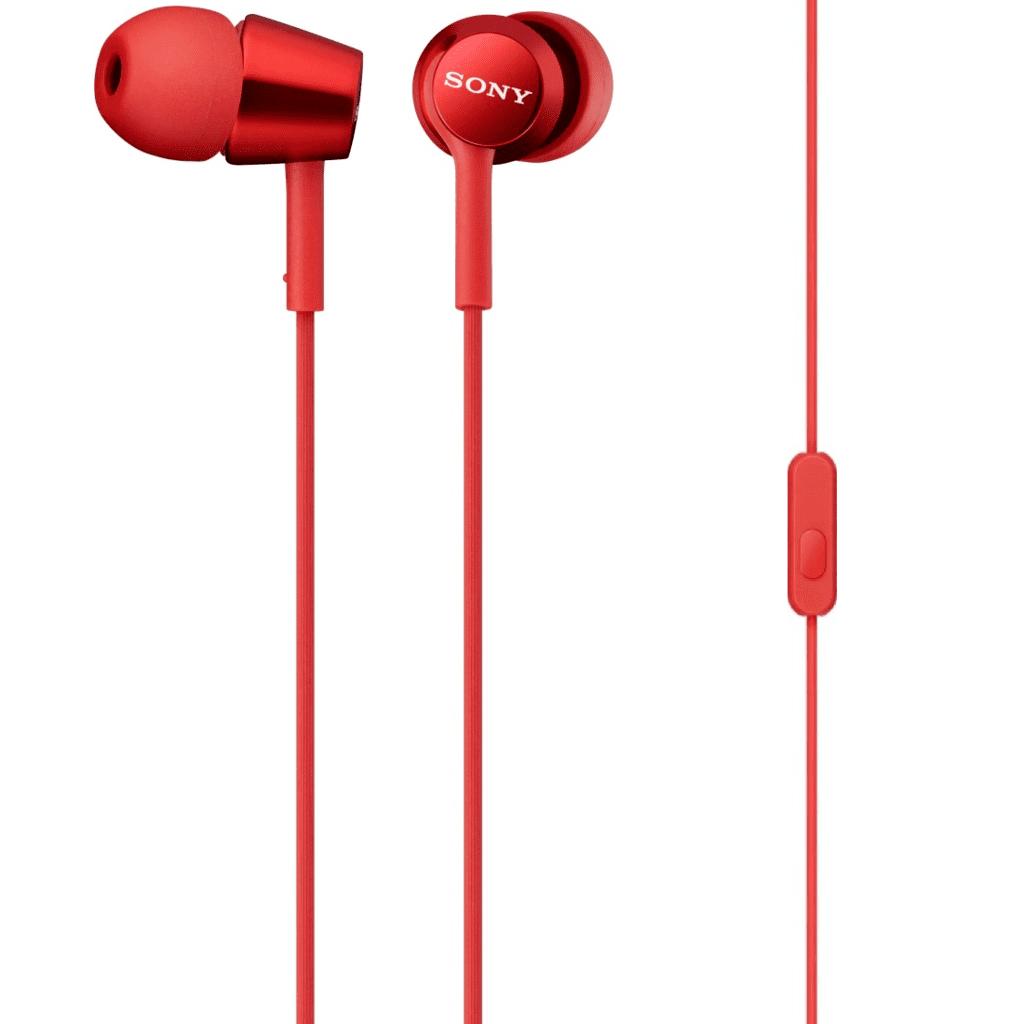 Tai nghe Sony MDR-EX150AP (Đỏ)