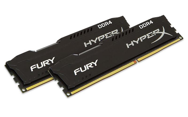RAM Kingston 16Gb (2x8Gb) DDR4-2666- HX426C15FBK2/16
