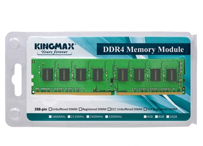 RAM Kingmax 8Gb DDR4 2400 Non-ECC