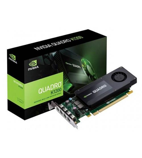 Quadro K1200 (NVIDIA Geforce/ 4Gb/ DDR5/ 128 Bit)