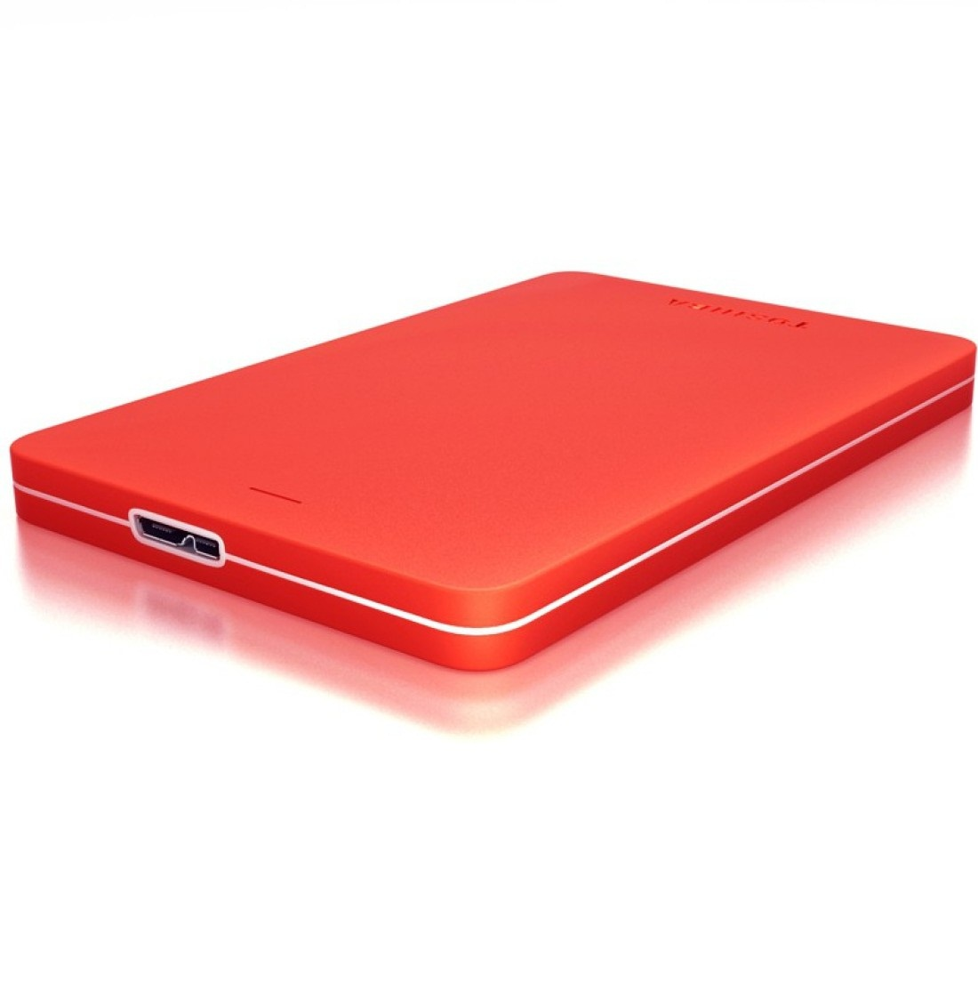 Ổ cứng di động Toshiba Canvio Alumy 2Tb USB3.0 Đỏ