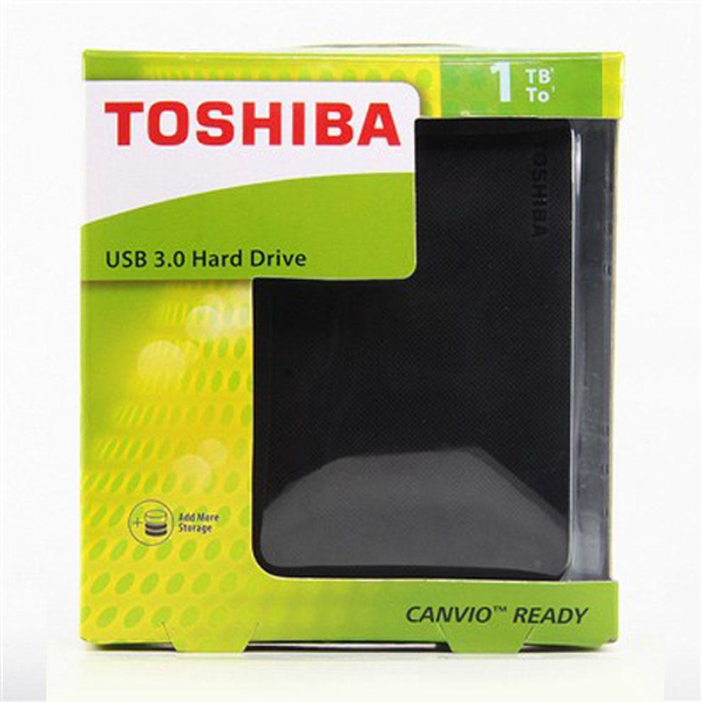 Ổ cứng di động Toshiba Canvio Ready 1Tb USB3.0 Đen