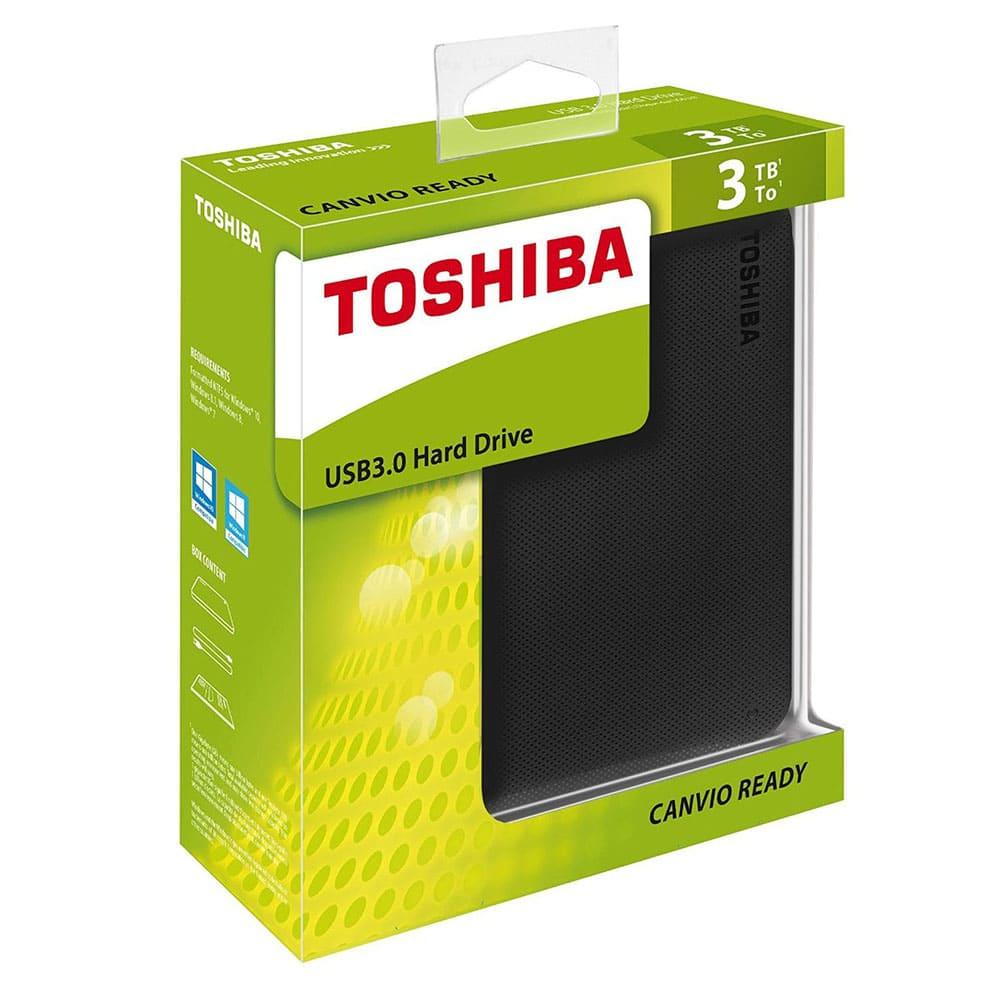 Ổ cứng di động Toshiba Canvio Ready 3Tb USB3.0 Đen